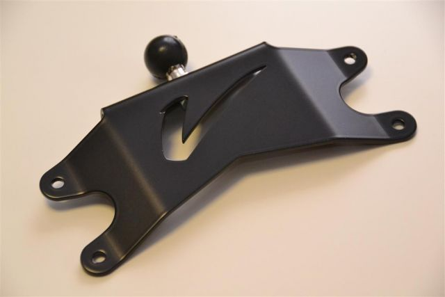 GPS mount - VStrom 2012 - Black